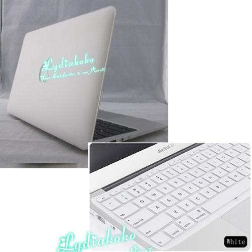 White Macbook Cover ~ Macbook air case white ebay