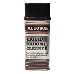 autosol liquid chrome metal cleaner polish 250ml the original best ebay. Black Bedroom Furniture Sets. Home Design Ideas