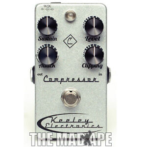 NEW-Keeley-Electronics-C4-4-Knob-Compressor-Pedal
