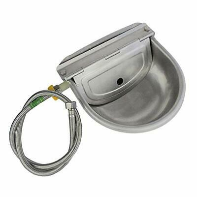 Automatic Water Feeder Trough Bowl With Pipe For Cattle Horse Goat Sheep Dog