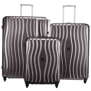 New It luggage Doppler 3-Piece Luggage Set - Charcoal
