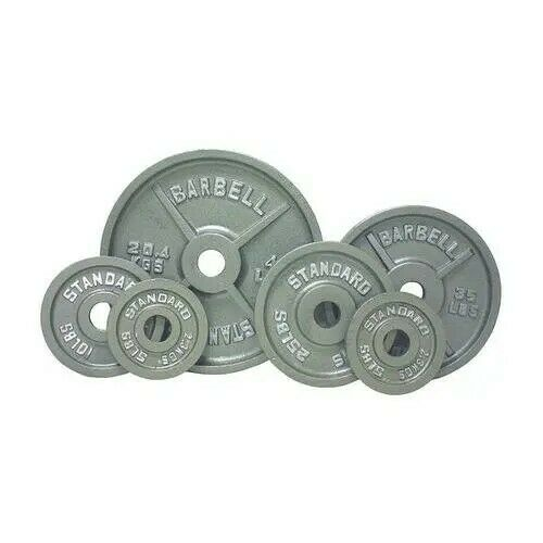 Troy USA Olympic Weight Plate Set