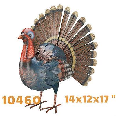 "Garden Decor Bird Statuary - Turkey Decor 17""  - Regal Art & Gift 10460"