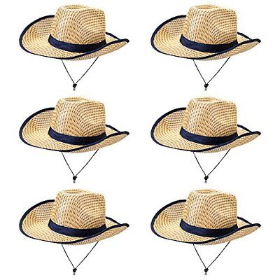 Australian Dundee Safari Hat Halloween Costume Accessory Dress Up, 6-pack (Australian Halloween Costumes)