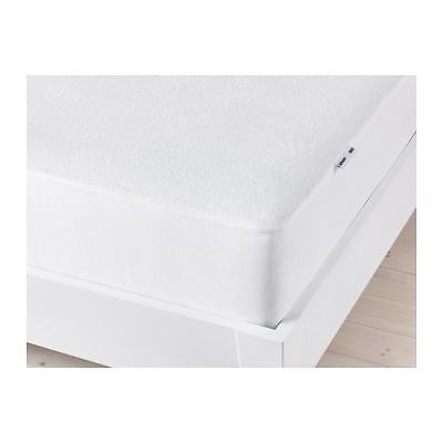 """IKEA GOKART TWIN WATERPROOF MATTRESS PROTECTOR PAD 75x38"""" COTTON BLEND NEW FREES, used for sale  Shipping to India"""