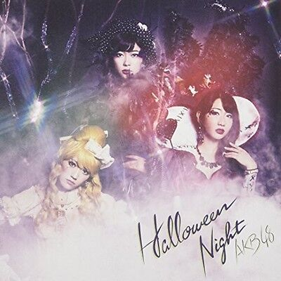 AKB48 - Halloween Night /LTD Cd+Dvd+Postcard Version a [New CD] Hong Kong - Impo