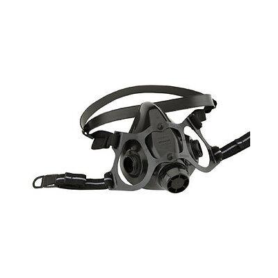 North 7700-30 Half Face Respirator Black Silicone Mask - Choose Size Smmdlg