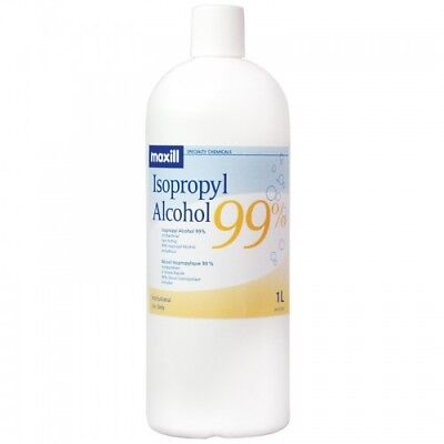 Isopropyl Alcohol 99 4x1l 1.06 Gallons- Best Price On Ebay