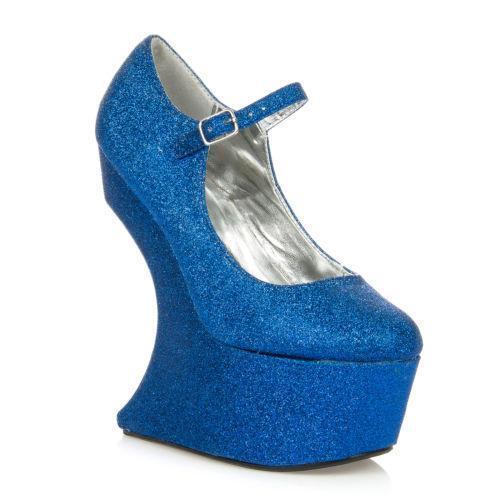 curved wedge heels ebay