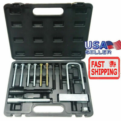 - Steering Wheel Puller& Lock Plate Set Compressor Installer Remover Kit & Case US