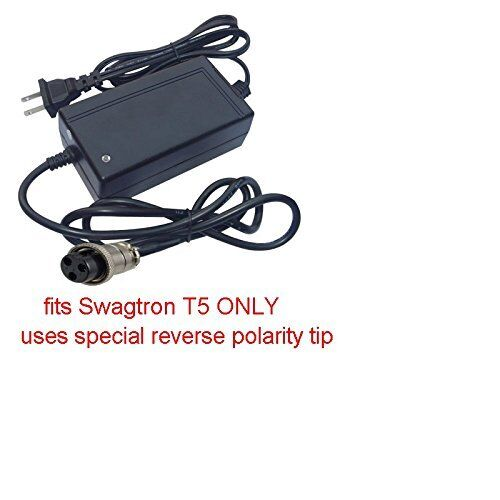 Charger for Swagtron Model T5 Board ONLY Hoverboard w Auto S