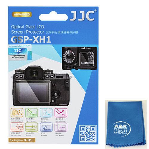 JJC GSP-XH1 Optical GLASS LCD Screen Protector Film for Fujifilm X-H1 XH1 Fuji