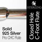 Machine Silver Body Professional Flutes