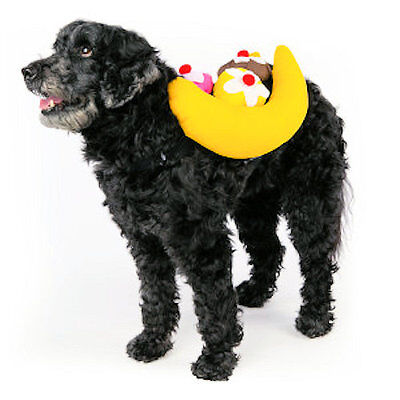 Top Paw Banana Split Dog Costume - Various Sizes - SALE BENEFITS RESCUE CHARITY