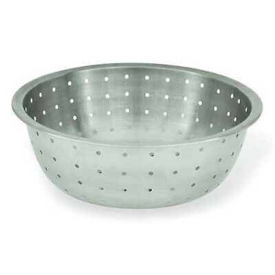 Stainless Steel Chinese Colander (Winware by Winco Chinese Colander, 5MM Holes, Stainless)
