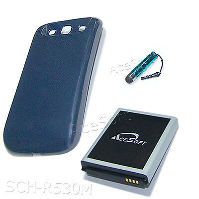 Extended 7570mah Battery Door Cover Pen For Samsung Galax...