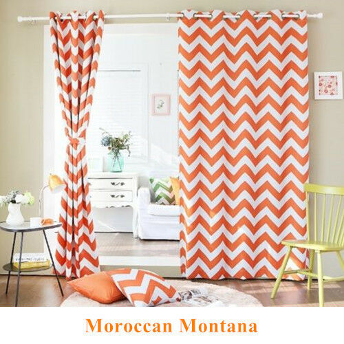 Moroccan Nordic Blockout Curtains Stripe Blackout Curtain
