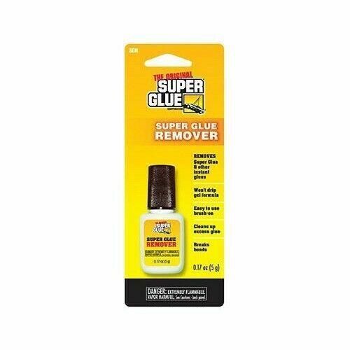 Super Glue SGR 0.17oz Super Glue Gel Remover