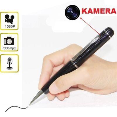 Camuflaje Cámara de Vigilancia Bolígrafo Bolígrafos Spycam Grabación Espía Mini