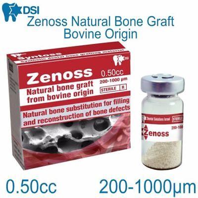 Dental Bone Implant (Zenoss Dental Implant Natural Bone Graft Material Bovine Sterile 0.50)
