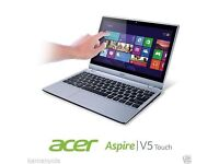 Acer Aspire v5 122p Laptop. Touchscreen, barely used. MS Office included!!! Perfect for Uni!