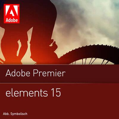 Adobe Premiere Elements 15 1 PC | or Mac Full Version Download 1 user UK EU