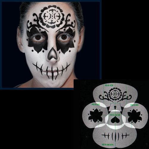 Sugar Skull Stencil: Airbrushing   eBay