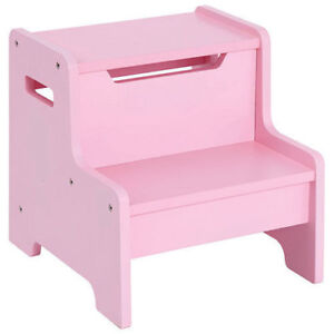 """New Pink Guidecraft Expressions Step Stool 13 x 14.4 x 13.4"""""""