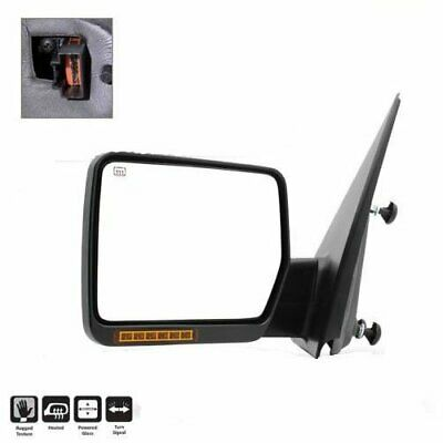 Pair For 2004-06 Ford F150 Power Heated w/LED Signal LH Driver Side View Mirror Ford F150 Mirror Lh Driver