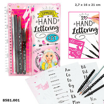 NEW TOP MODEL HAND LETTERING SET