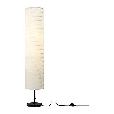 Ikea lightebay 1 2 ikea holmo floor lamps light white rice paper shade modern contemporary new mozeypictures Choice Image