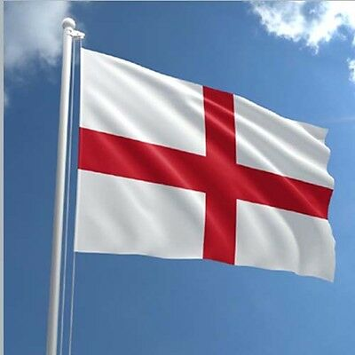 England St George Large Flag 5ft x 3ft / 1.5m x 90cm Polyester with Eyelets