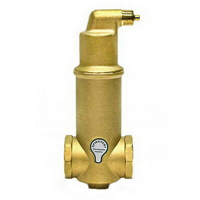 Spirotherm Vjr200tm Spirovent Junior Microbubble Brass Air Eliminator 2