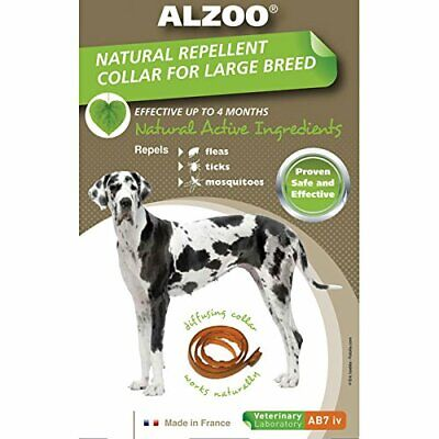 Diffusing Dog Natural Repellant Collar w/ Active Ingredients Safe & Effective