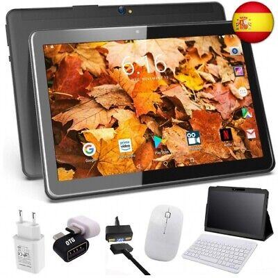 Usado, Tablet 10 Pulgadas 4G Android 9.0 4GB RAM 64GB de Memoria, Escalable (Negro 816) segunda mano  España