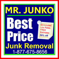 Ultimate best price junk removal