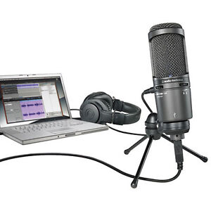 Audio-Technica 2020 USB Condenser Microphone