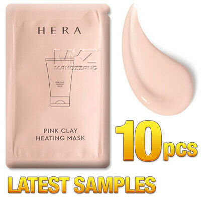 - HERA Pink Clay Heating Mask 10pcs Nice Warm Moist Rebulid Skin Younger Latest