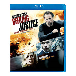 Seeking Justice Blu-ray disc-Excellent condition