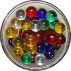 Clear Colored Marbles