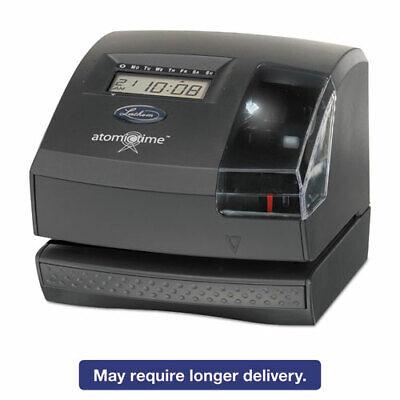 Lathem 1600e Tru-align Atomic Time Clock - Card Punchstamp Employees - Digital