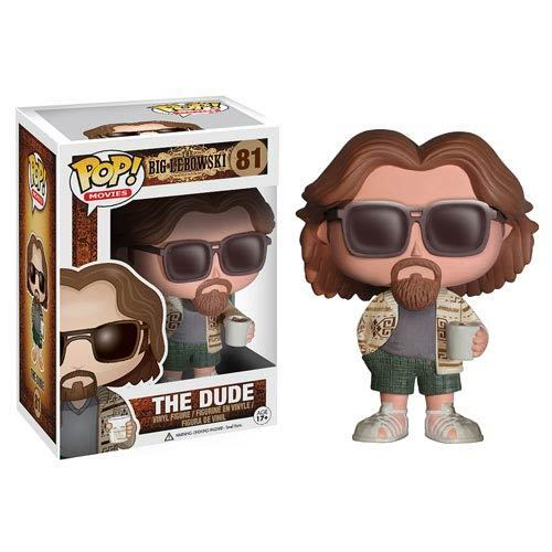 The Big Lebowski The Dude Pop! Vinyl Figure By Funko