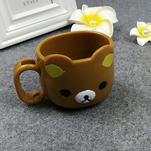 2 pk Cute Bear Die-Cut Mug San-x Rilakkuma Mug Cup Rilakkuma mugs