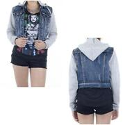Juniors Denim Jacket Small