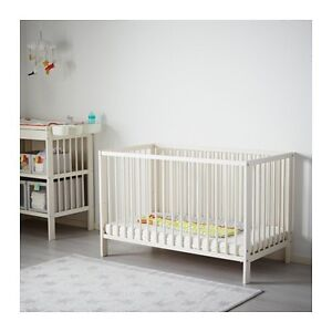 IKEA 3in1 infant crib to toddler bed