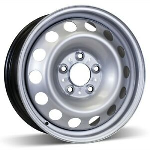 4 16 inch steel rims, 5x120 bolt pattern