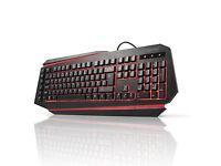 aLLreLi K9500U Programmable Gaming Keyboard LED Back Light