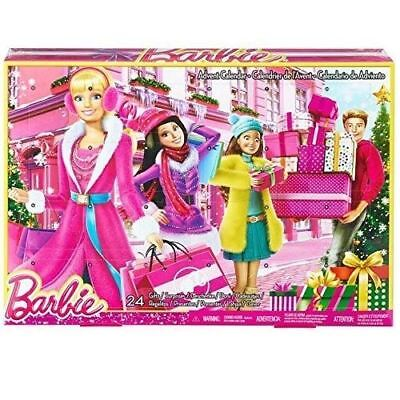 Barbie Advent Calendar Fashion Christmas with 24 Gifts and Accessories