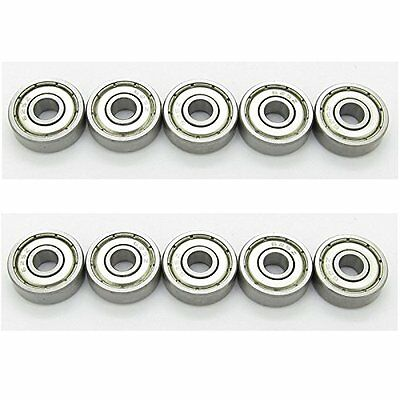 Bearing 625zz 5x16x5 Shielded Ball Bearings 5mm Miniature Axle Grease Fill