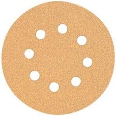 Dewalt Dw4301 5-inch 8 Hole 80 Grit Hook And Loop Random Orbit Sandpaper